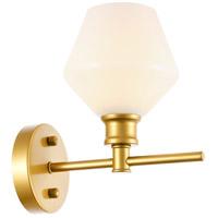 Living District LD2309BR Gene 1 Light 6 inch Brass Wall sconce Wall Light