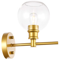 Living District LD2310BR Collier 1 Light 6 inch Brass Wall sconce Wall Light
