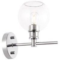 Living District LD2310C Collier 1 Light 6 inch Chrome Wall sconce Wall Light
