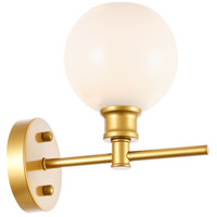 Living District LD2311BR Collier 1 Light 6 inch Brass Wall sconce Wall Light