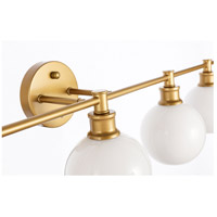 Living District LD2327BR Collier 5 Light 47 inch Brass Wall sconce Wall Light alternative photo thumbnail