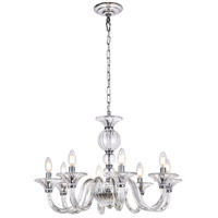Vale 8 Light 27 inch Chrome Chandelier Ceiling Light