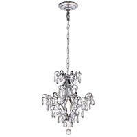 Vivian 1 Light 16 inch Chrome Pendant Ceiling Light