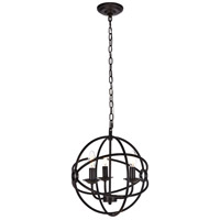 Octavia 3 Light 14 inch Dark Brown Pendant Ceiling Light