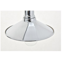 Living District LD4033W21C Etude 2 Light 21 inch Chrome Wall Sconce Wall Light alternative photo thumbnail