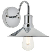 Living District LD4033W9C Etude 1 Light 9 inch Chrome Wall Sconce Wall Light