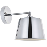 Living District LD4058W8C Nota 1 Light 8 inch Chrome Wall Sconce Wall Light