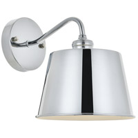 Living District LD4059W8C Nota 1 Light 8 inch Chrome Wall Sconce Wall Light