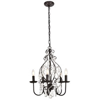 Blaise 5 Light 17 inch Oil Rubbed Bronze Pendant Ceiling Light