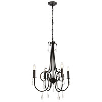 Royce 4 Light 20 inch Dark Bronze Pendant Ceiling Light