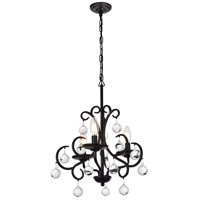 Living District LD5008D15DB Reign 3 Light 15 inch Dark Bronze Pendant Ceiling Light