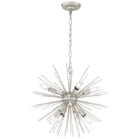 Living District LD5037D20CG Timber 8 Light 20 inch Champagne Pendant Ceiling Light