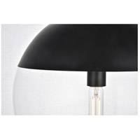 Living District LD6045BK Eclipse 1 Light 14 inch Black Pendant Ceiling Light alternative photo thumbnail