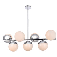 Living District LD6136C Eclipse 7 Light 18 inch Chrome Pendant Ceiling Light