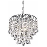Living District LD6802D14C Addison 3 Light 14 inch Chrome Pendant Ceiling Light