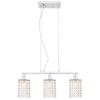 Living District LD7501C Taylor 3 Light 5 inch Chrome Pendant Ceiling Light