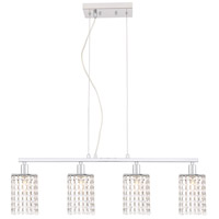 Living District LD7502C Taylor 4 Light 5 inch Chrome Pendant Ceiling Light