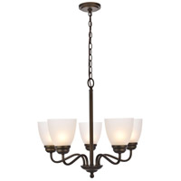 Bale 5 Light 23 inch Oil Rubbed Bronze Chandelier Ceiling Light