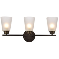 Biff 3 Light 22 inch Oil Rubbed Bronze Wall Sconce Wall Light