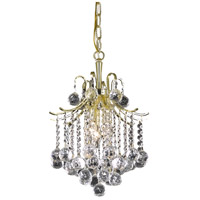 Amelia 3 Light 12 inch Gold Pendant Ceiling Light