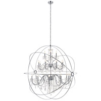 Cordelia 24 Light 59 inch Chrome Pendant Ceiling Light