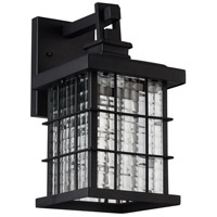 Living District LDOD1001 Omarion LED 13 inch Black Outdoor Wall Sconce