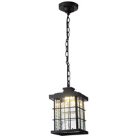 Living District LDOD1002 Omarion LED 7 inch Black Outdoor Pendant