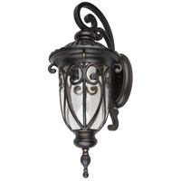 Living District LDOD2502 Omega LED 28 inch Weather Bronze Outdoor Wall Sconce