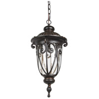 Living District LDOD2503 Omega LED 9 inch Weather Bronze Outdoor Pendant