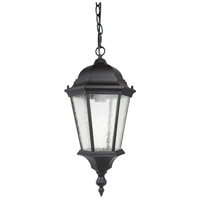 Living District LDOD2602 Ontario 1 Light 8 inch Black Outdoor Pendant