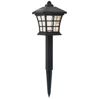 Living District LDOD3004-6PK Dux 0.08 watt Black Outdoor Path Light Pack of 6