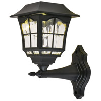Living District LDOD3006-4PK Oberon LED 8 inch Black Outdoor Wall Light, Pack of 4