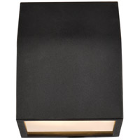 Living District LDOD4004BK Raine 6 inch Black Outdoor Wall Light