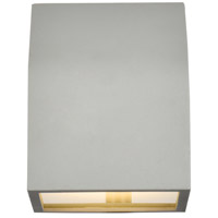 Living District LDOD4004S Raine 6 inch Silver Outdoor Wall Light