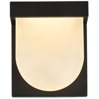 Living District LDOD4009BK Raine 6 inch Black Outdoor Wall Light