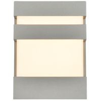 Living District LDOD4010S Raine 8 inch Silver Outdoor Wall Light