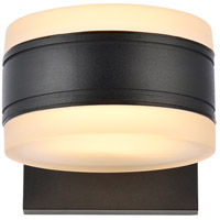 Living District LDOD4012BK Raine 5 inch Black Outdoor Wall Light