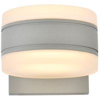 Living District LDOD4012S Raine 5 inch Silver Outdoor Wall Light