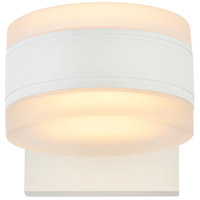 Living District LDOD4012WH Raine 5 inch White Outdoor Wall Light