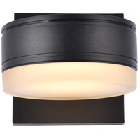 Living District LDOD4013BK Raine 5 inch Black Outdoor Wall Light