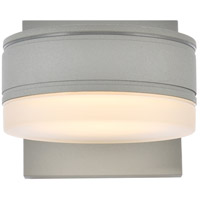Living District LDOD4013S Raine 5 inch Silver Outdoor Wall Light
