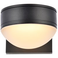Living District LDOD4014BK Raine 5 inch Black Outdoor Wall Light