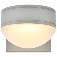 Living District LDOD4014S Raine 5 inch Silver Outdoor Wall Light