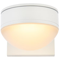 Living District LDOD4014WH Raine 5 inch White Outdoor Wall Light