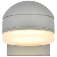 Living District LDOD4015S Raine 5 inch Silver Outdoor Wall Light