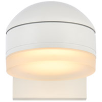 Living District LDOD4015WH Raine 5 inch White Outdoor Wall Light