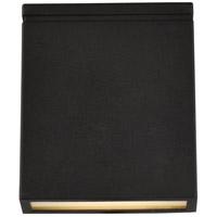 Living District LDOD4023BK Raine 7 inch Black Outdoor Wall Light