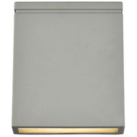 Living District LDOD4023S Raine 7 inch Silver Outdoor Wall Light