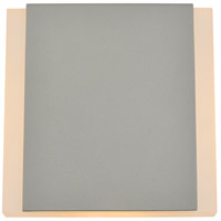 Living District LDOD4030S Raine 7 inch Silver Outdoor Wall Light