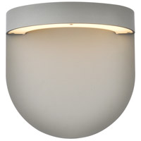 Living District LDOD4031S Raine 9 inch Silver Outdoor Wall Light